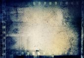stock photo of nostalgic  - Film negatives frame - JPG