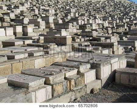Old Tombs In Jerusalem