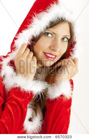 female Santa Claus