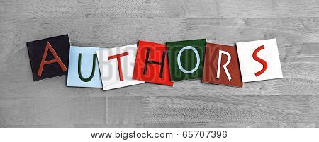 Authors, Sign for Writing, Education, Libraries, Book Clubs and Novels