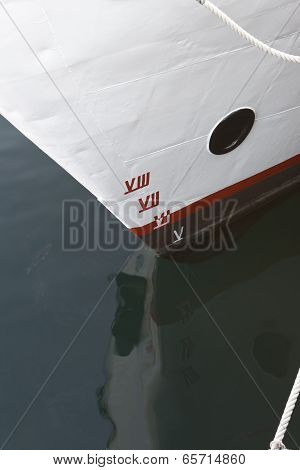 Ship Draft Marks.