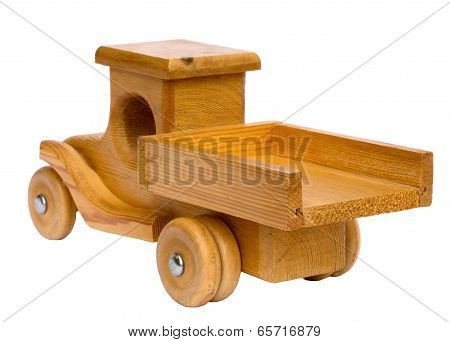 Wooden Truck Departing