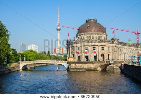 Cityscape Of Berlin, Germany