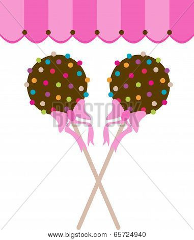 Cake Pops Lollipop Chocolate