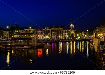 Leiden Comes To Life After Dark