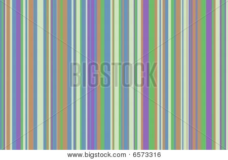 Blue, Brown, Purple, Green Stripes