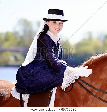 Portrait Of The Horsewoman.