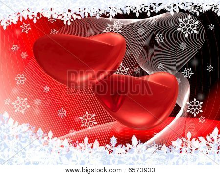 Two Hearts On The Red