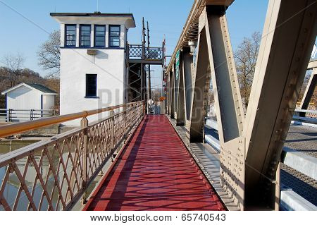 Lift Bridge Over the Erie Canal