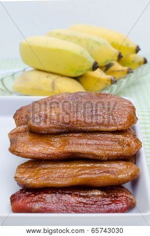Sun-dried Banana