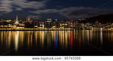 Wellington Harbour Lights