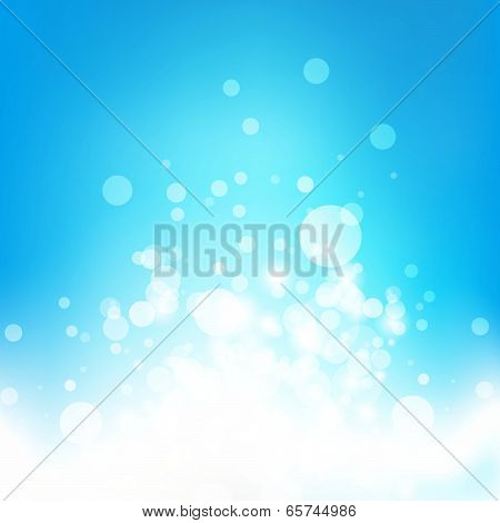 Buble abstract background