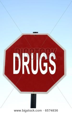 Drugs Sign