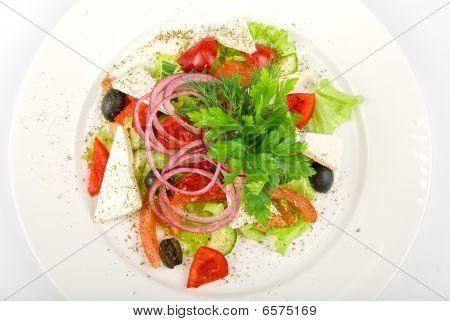 Caesar Salad Dish