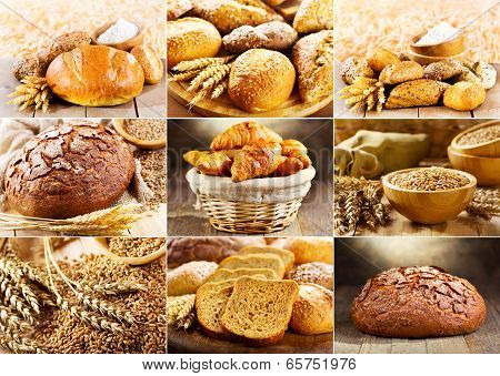 Various Fresh Bread