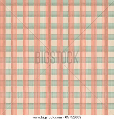 Abstract Retro Square Tablecloth Seamless Pattern