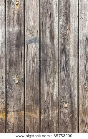 Wall Wooden Planks Painted  White Grey