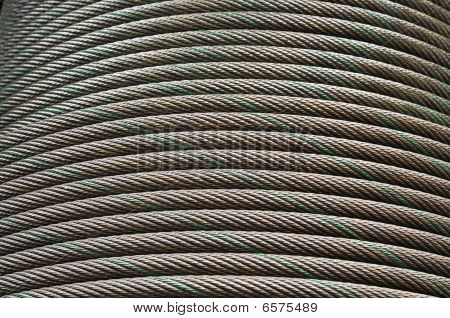 Cable Steel Line Curve