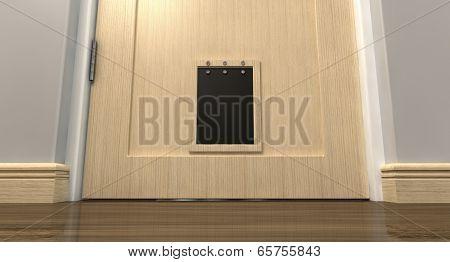 Pet Flap Interior