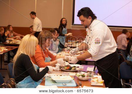 Cooking Sushi