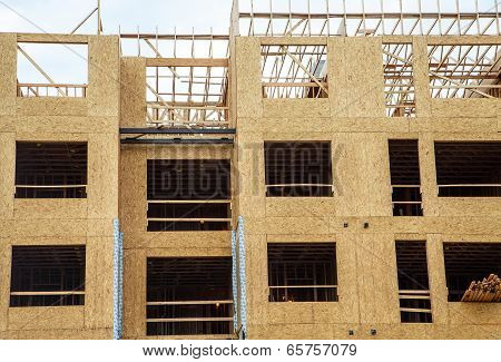 Wood Sheathing On Stud Framing