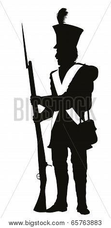 Vintage Soldier. Warriors Theme