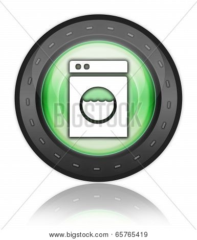 Icon, Button, Pictogram Laundromat