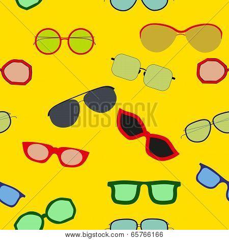 Sunglasses Seamless Pattern