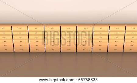Office furniture, Abstract background