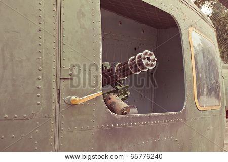 Military Chopper Gun