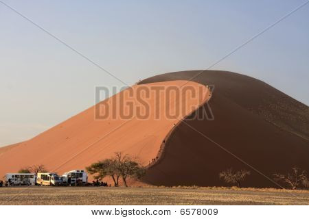 Sossusvlei Sand Dune 45 In The National Park