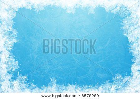 Glittering Ice Frame