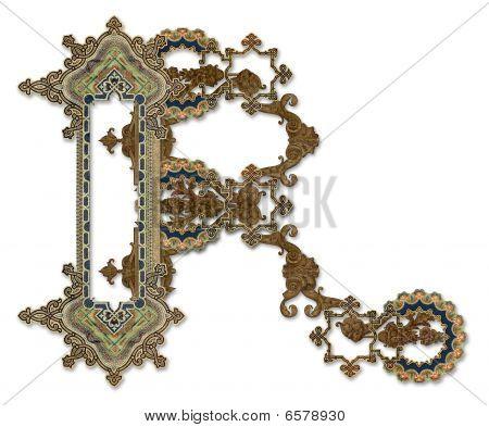 """Letter """"r""""."""
