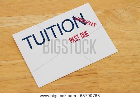 Tuition Payment Past Due