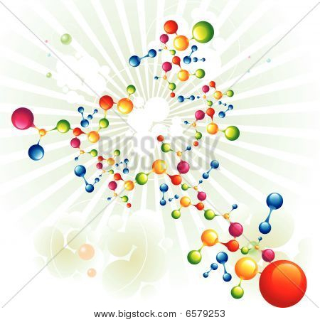 Molekül-Vektoren