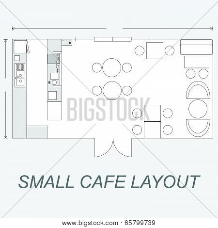 Small Cafe Layout