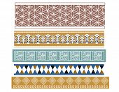 pic of babylon  - A set of different ancient babylonian pattern designs - JPG