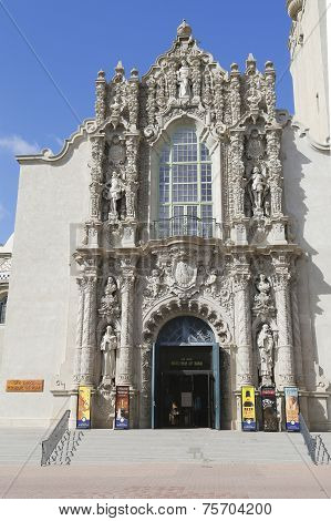 San Diego Museum of Man at Balboa Park