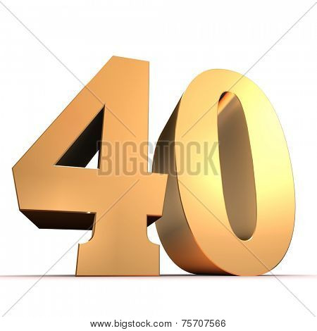 golden number - 40