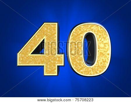 golden number 40
