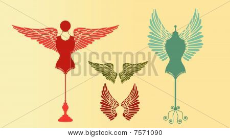 Bodyforms With Wings