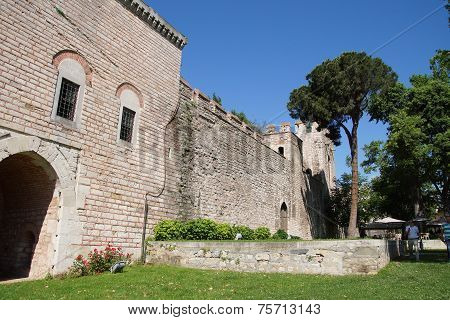 Exterior Walls And Towers Of Topkapi Palace