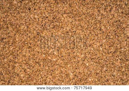 Brown Textured Cork - Closeup