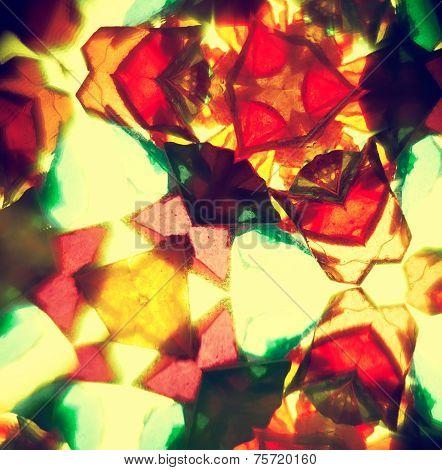 Vintage kaleidoscope pattern