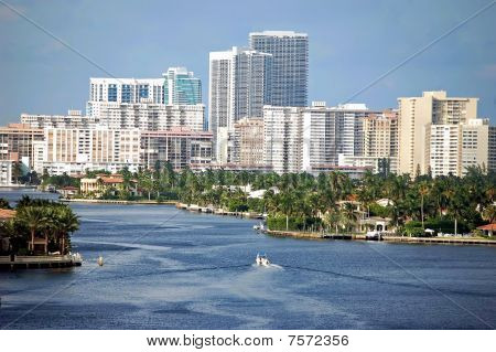 North Miami Beach Condo Skyline
