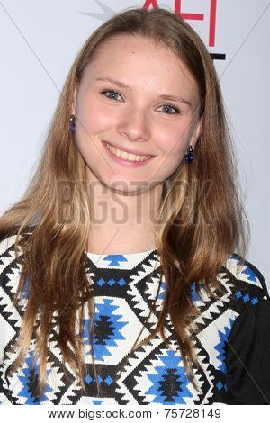LOS ANGELES - NOV 7:  ?Yana Novikova at the AFI FEST 2014 Screening Of