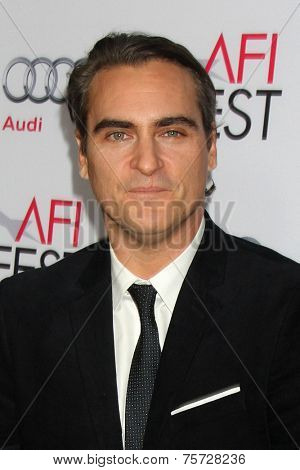 LOS ANGELES - NOV 8:  Joaquin Phoenix at the