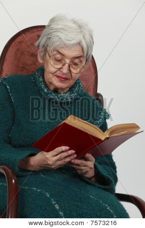 Old Woman Reading