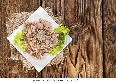 Portion Of Tuna