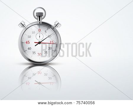 Light Background with chronometer stopwatches